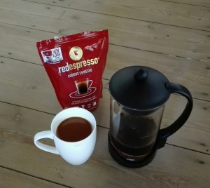 French Press Red Espresso