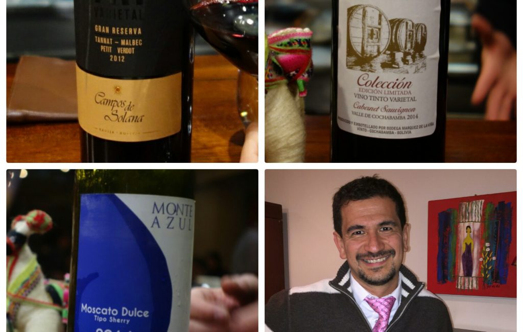 Two Talk: Francisco Roig on Bolivian wine